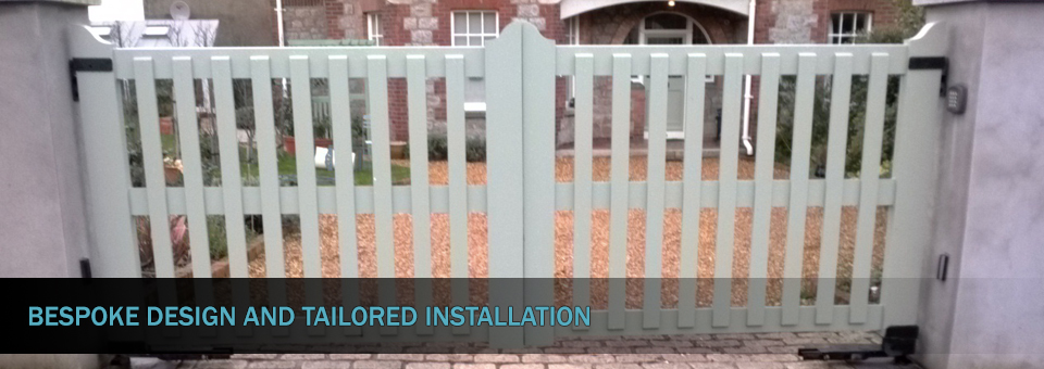 Electronic Security Systems Automated Gate DUBLIN 2
