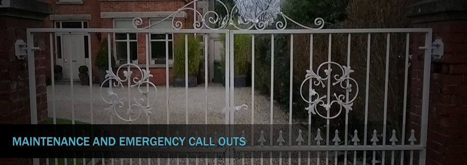 Total Electronic Security Systems Automated Gate